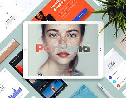 Portland UI Kit for Sketch+PS