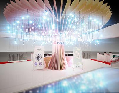 DOJI/ Exhibition booth .