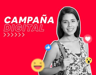 Campaña Digital - Admisión 2019-1 - USMP