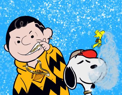 Charlie Breezy x Snoopy x Woodstock