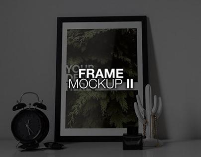Frame PSD Mockup II