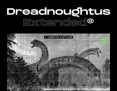 DreadnoughtusExtended Font Family