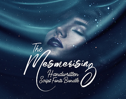 The Mesmerising Handwritten Script Fonts Bundle