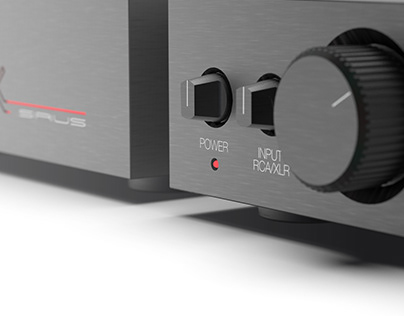 SIRIUS high-end Amplifier for Stax Headphones
