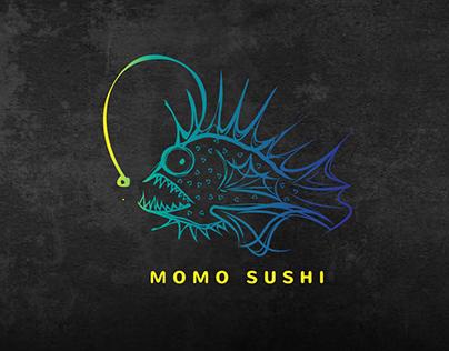 momo sushi [logofolio]