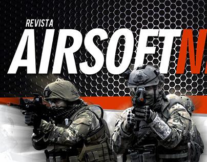 Logotipo Revista AIRSOFT NEWS