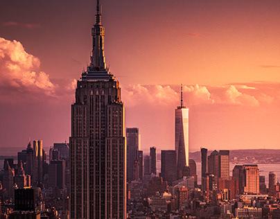 NYC ⏤ Sunset