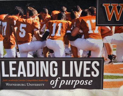 Athletics Brochure, Waynesburg University