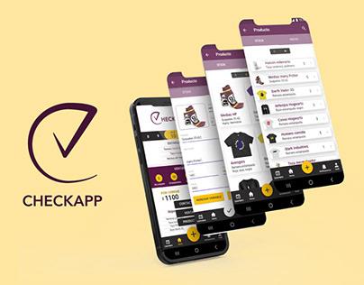 Checkapp Diseño UX/UI