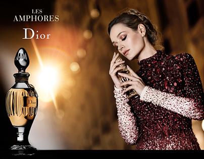 Personal Work : Perfume Ad Amphores Dior