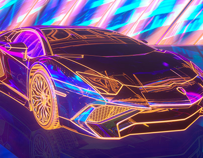 C4D& Lamborghini