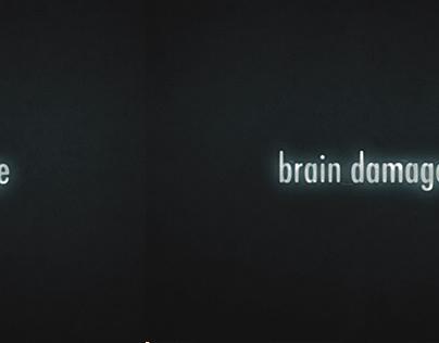 brain damage   Experimental Short