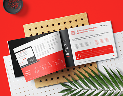 ANCHOR MEDIA - Brochure Layout Design
