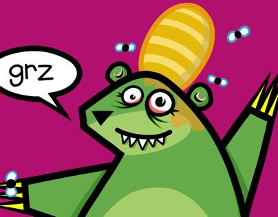 Zanymals: Oh bee-hive!