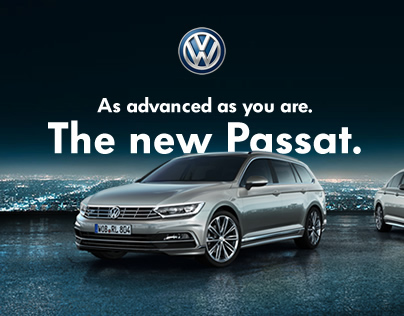 Volkswagen Passat: International Website Launch