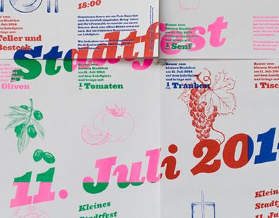 Kleines Stadtfest