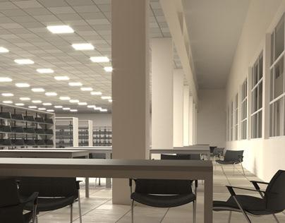 Hacettepe University Library Visualization