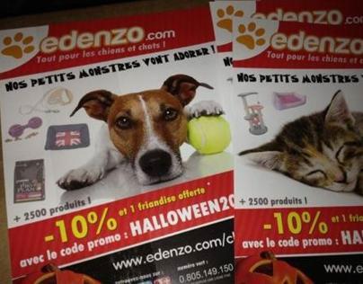 Flyers pour notre promo Halloween 2012 !