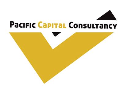 Pacific Capital Consultancy - Logo & letter head design