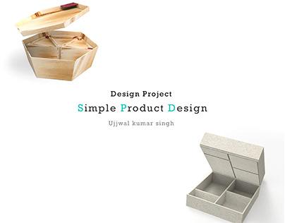 SPD simple product design, Design project.