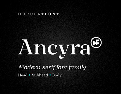 Ancyra Modern Serif Font Family