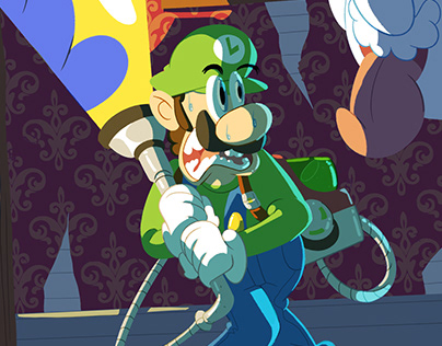 Luigi's Mansion fanart