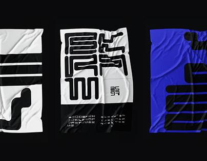 EKRAM: Display Typeface Design