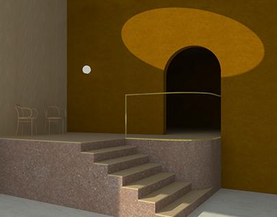Desertic interior