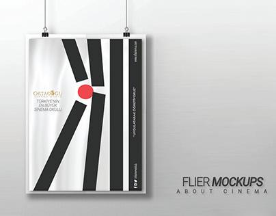 +Flier Mockup/Billboard/Movie Poster