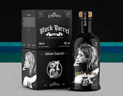 Black Barrel - Label Design
