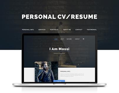 Personal CV/Resume