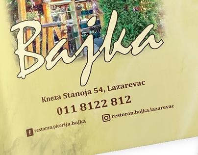 Restaurant Bajka Menu