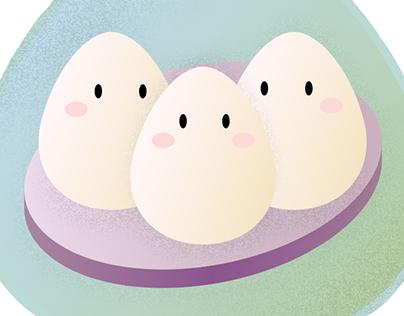 Triple Eggs