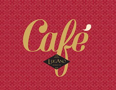 Identidade visual Café Lugano