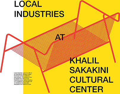 Local Industries At Khalil Sakakini Posters