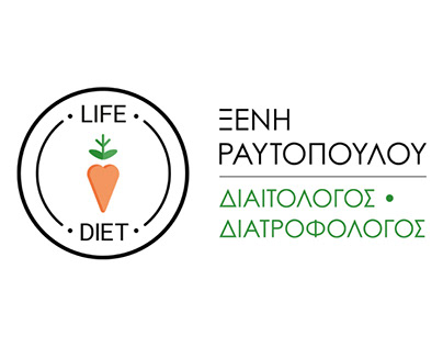 Brand identity - website design for nutritionist