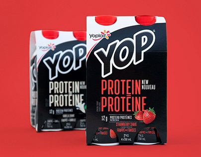 YOP Protein - Packaging