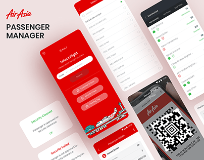 RedAirport - Passenger Manager