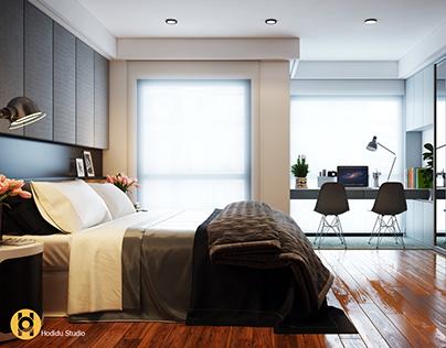 TW Bedroom - Hodidu Studio