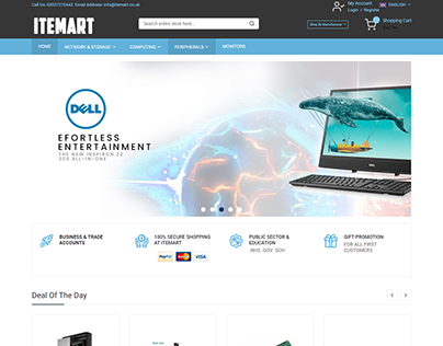IT MART E-COMMERCE WEBSITE