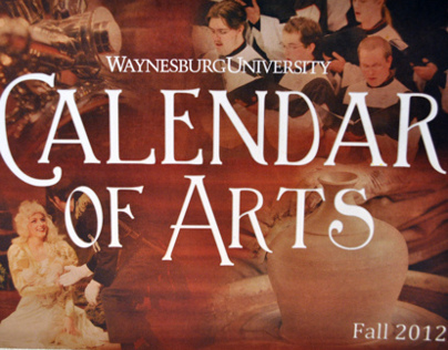 Calendar of Arts Fall 2012, Waynesburg University