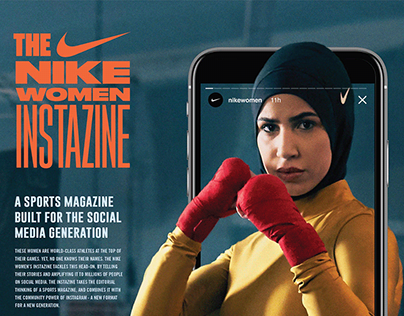 Nike Women Instazine