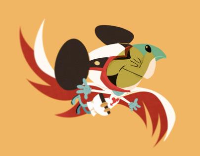 QuickieMickey: Science Ninja Team Gatchaman