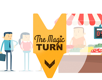 TheMagicTurn - Animation video for App
