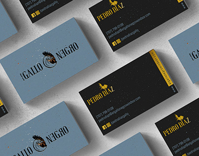 Gallo Negro / Branding