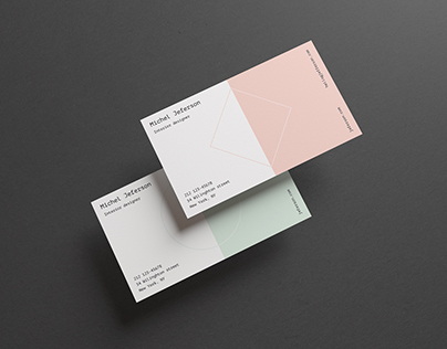 Horizontal Business Cards Mock-up (free)