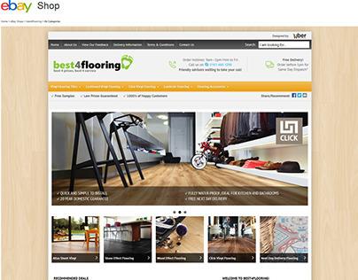 Best4flooring ebay shop design