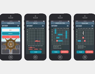 Battleship App UX/UI