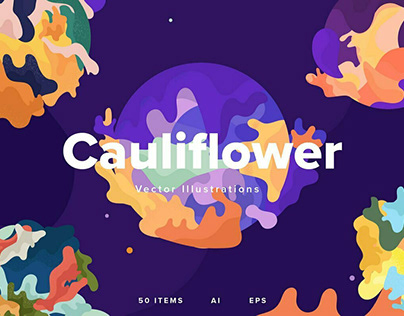Cauliflower by YouWorkForThem Design Studio