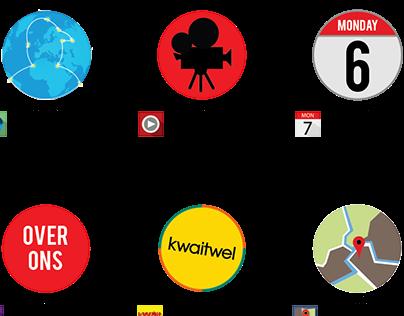 App pictogrammen Jongerenwerk
